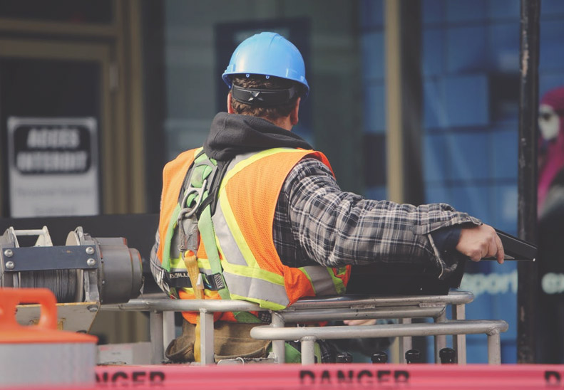 Hearing loss on a work site