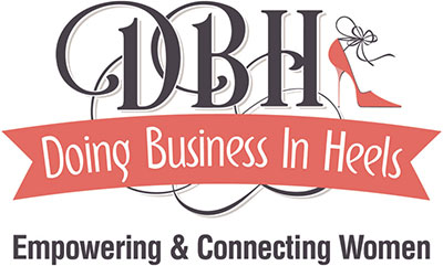 Doing business in heels logo